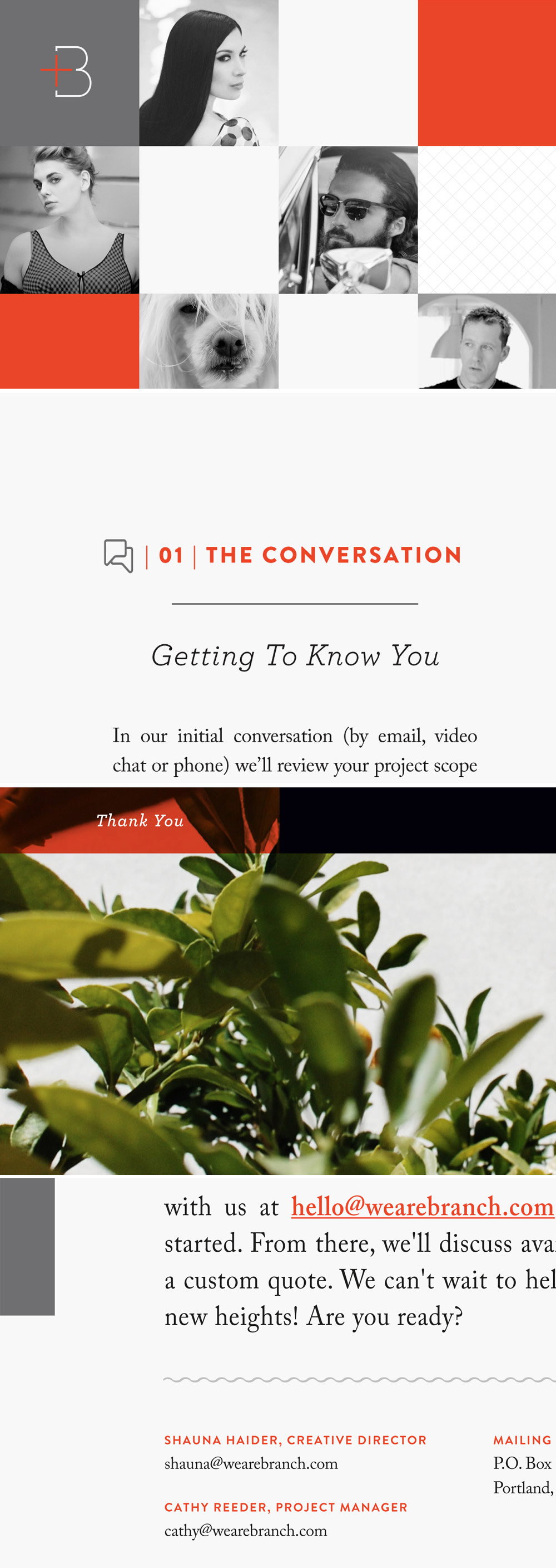 Branch | 10 Things To Include In Your Media Kit