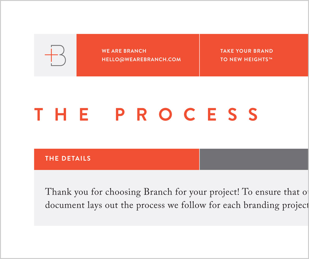 We Are Branch: Convey Your Value To Clients With A Process Sheet