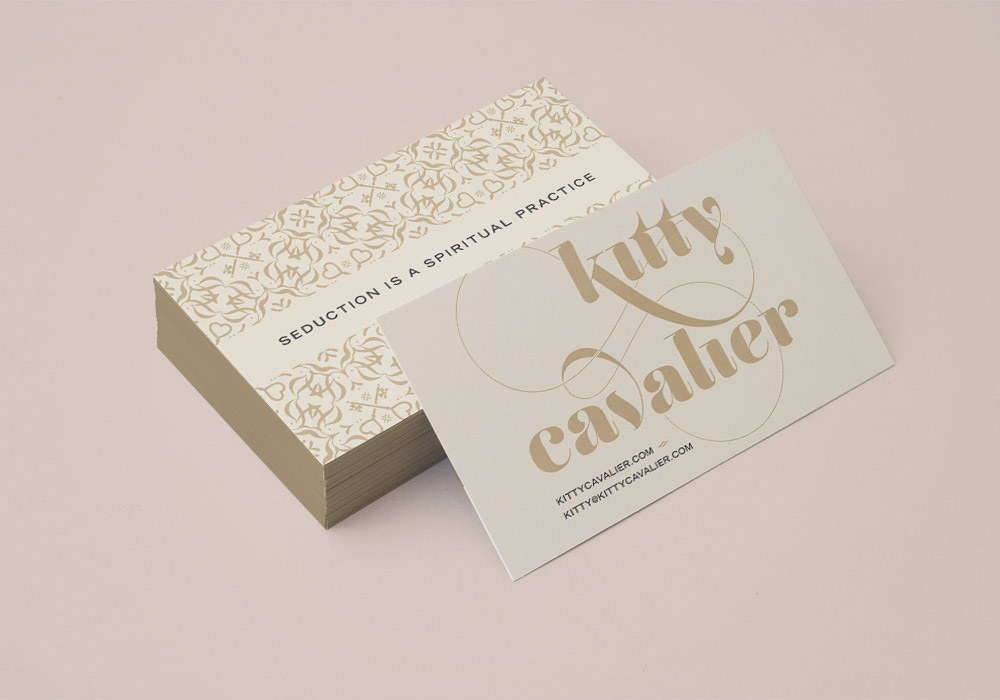 Branch | Kitty Cavalier Business Cards