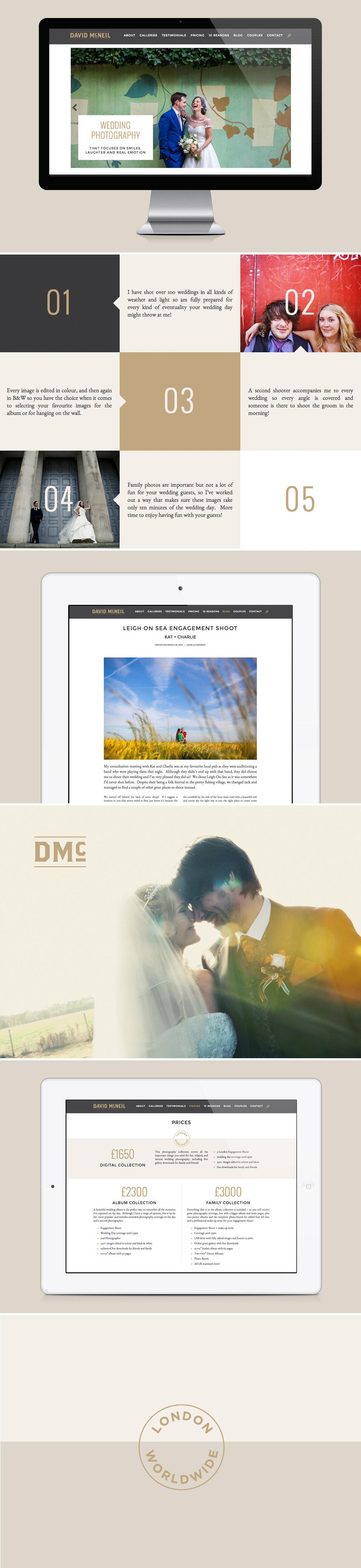 Branch   David McNeil Photography Website