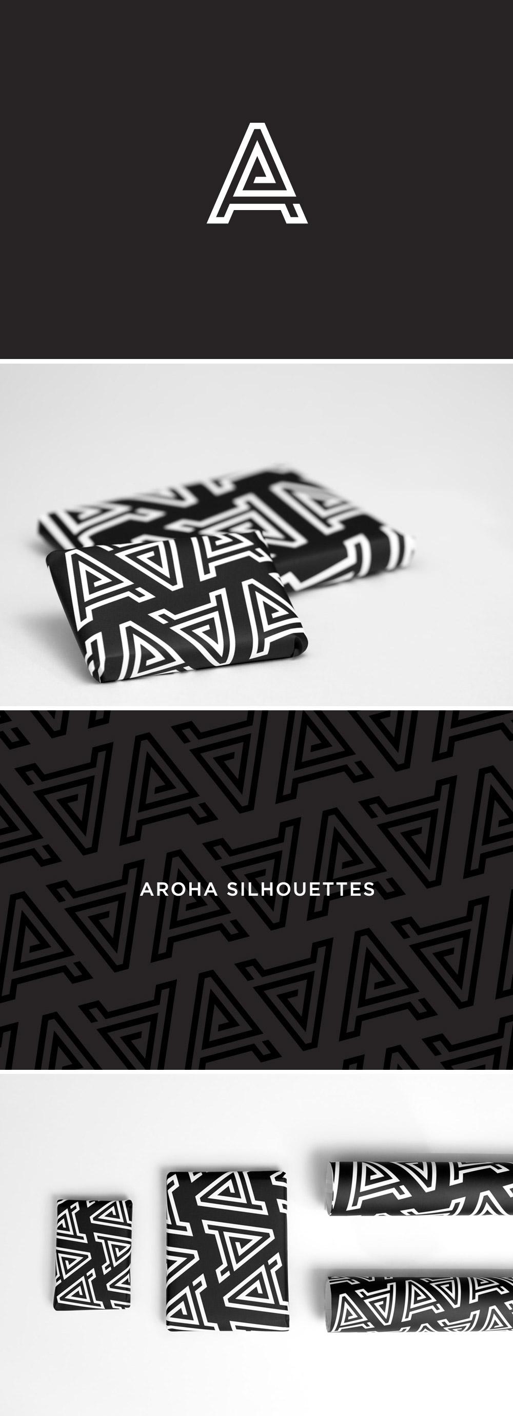 Branch | Aroha Silhouettes Gift Wrap