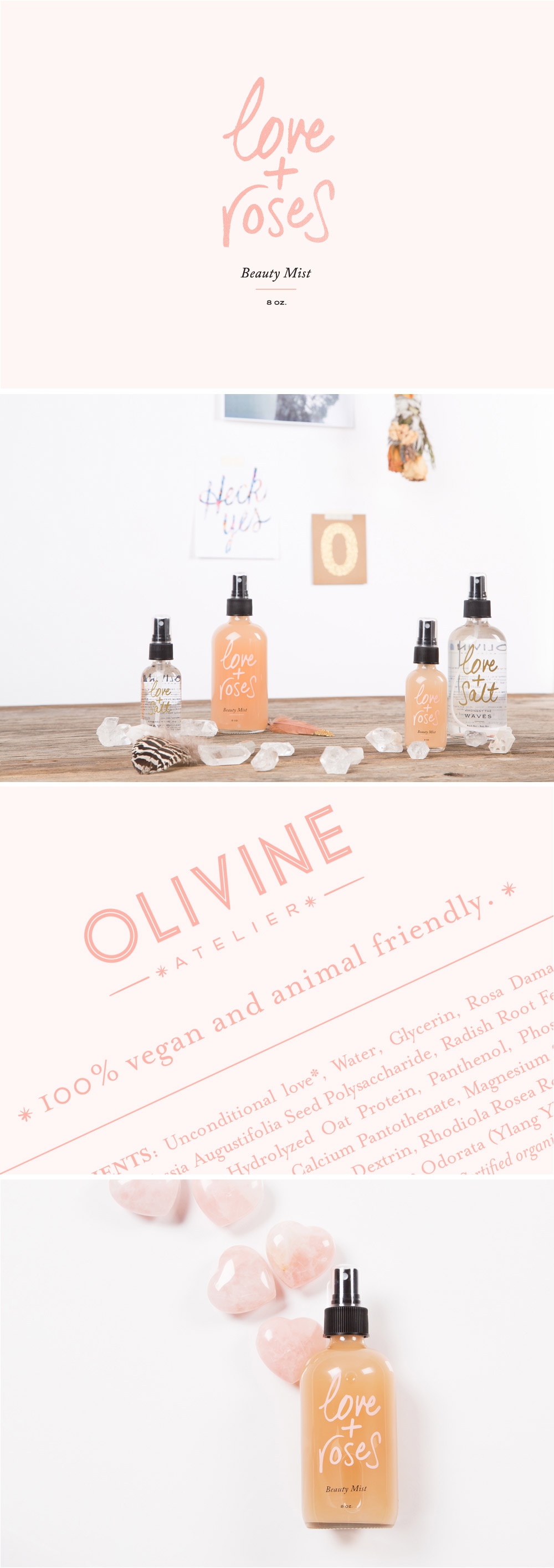 Olivine Atelier Love And Roses Beauty Mist