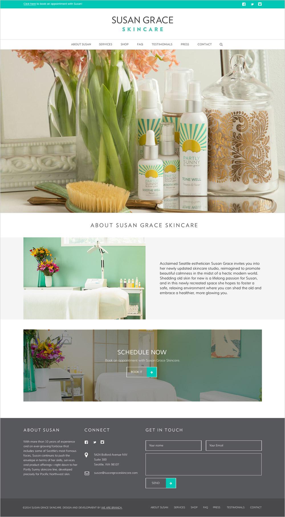 Branch | Susan Grace Skincare