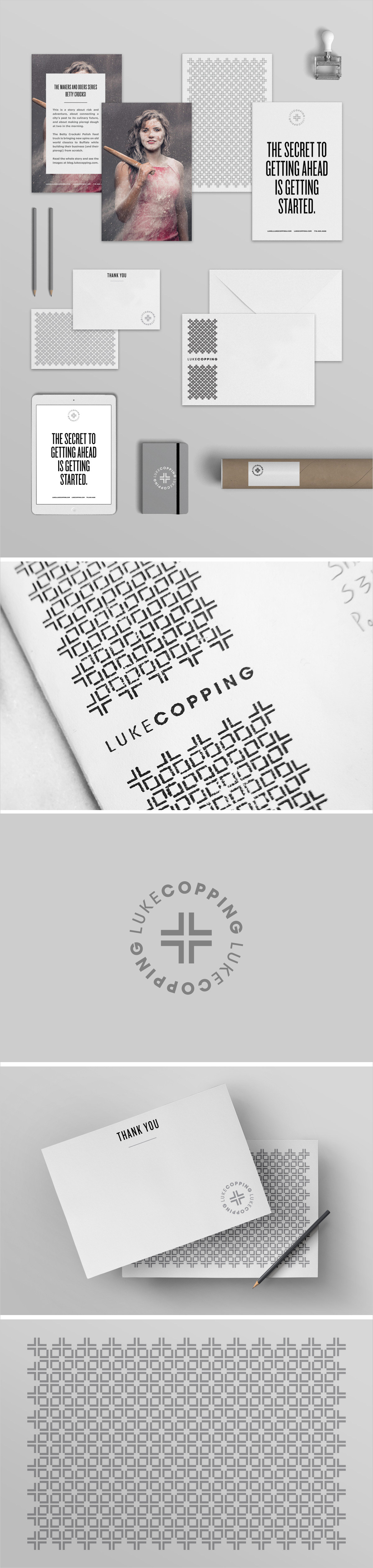 Branch | Luke Copping Promos, Thank You Cards and Stamps