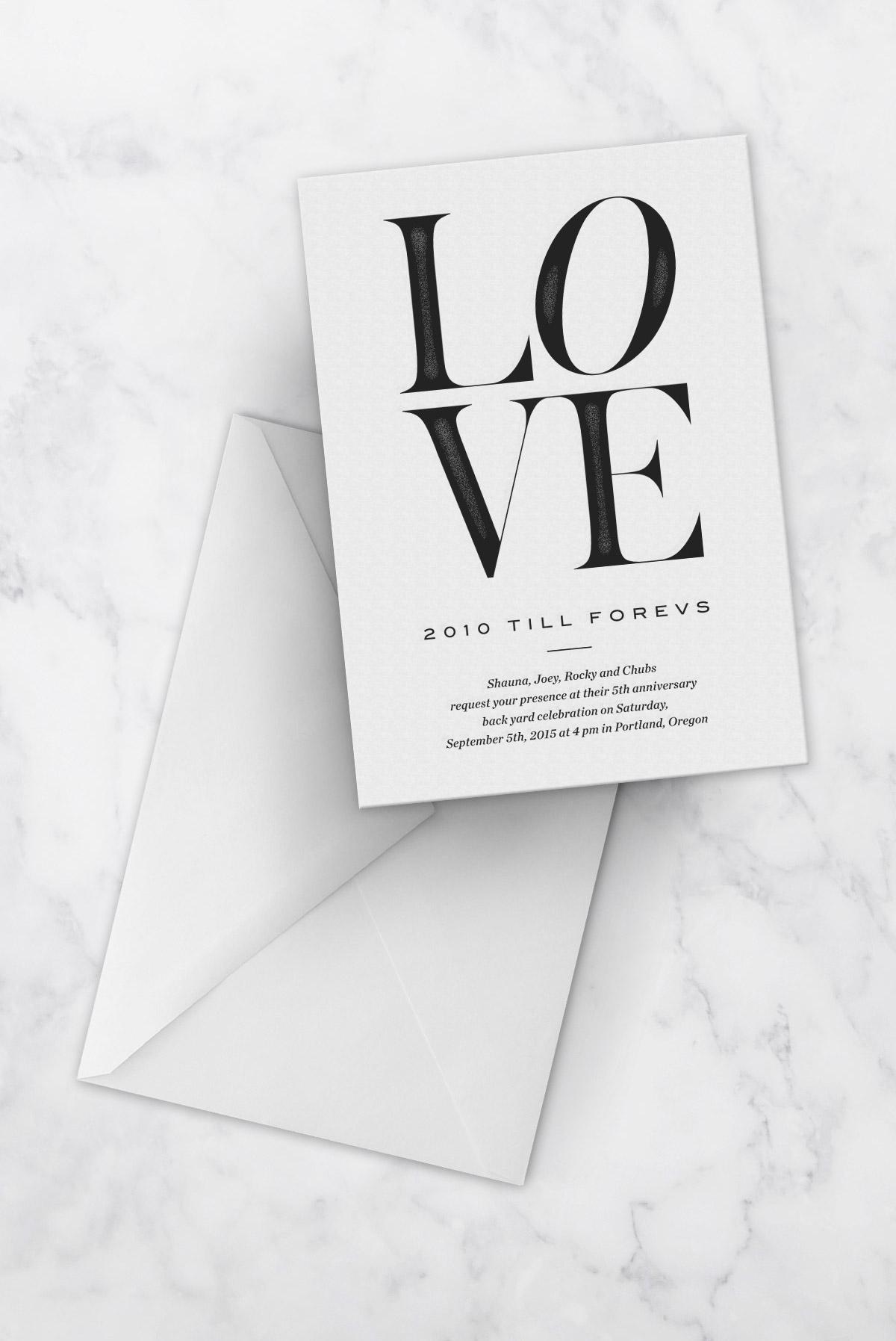We Are Branch |  Letterpress Invites