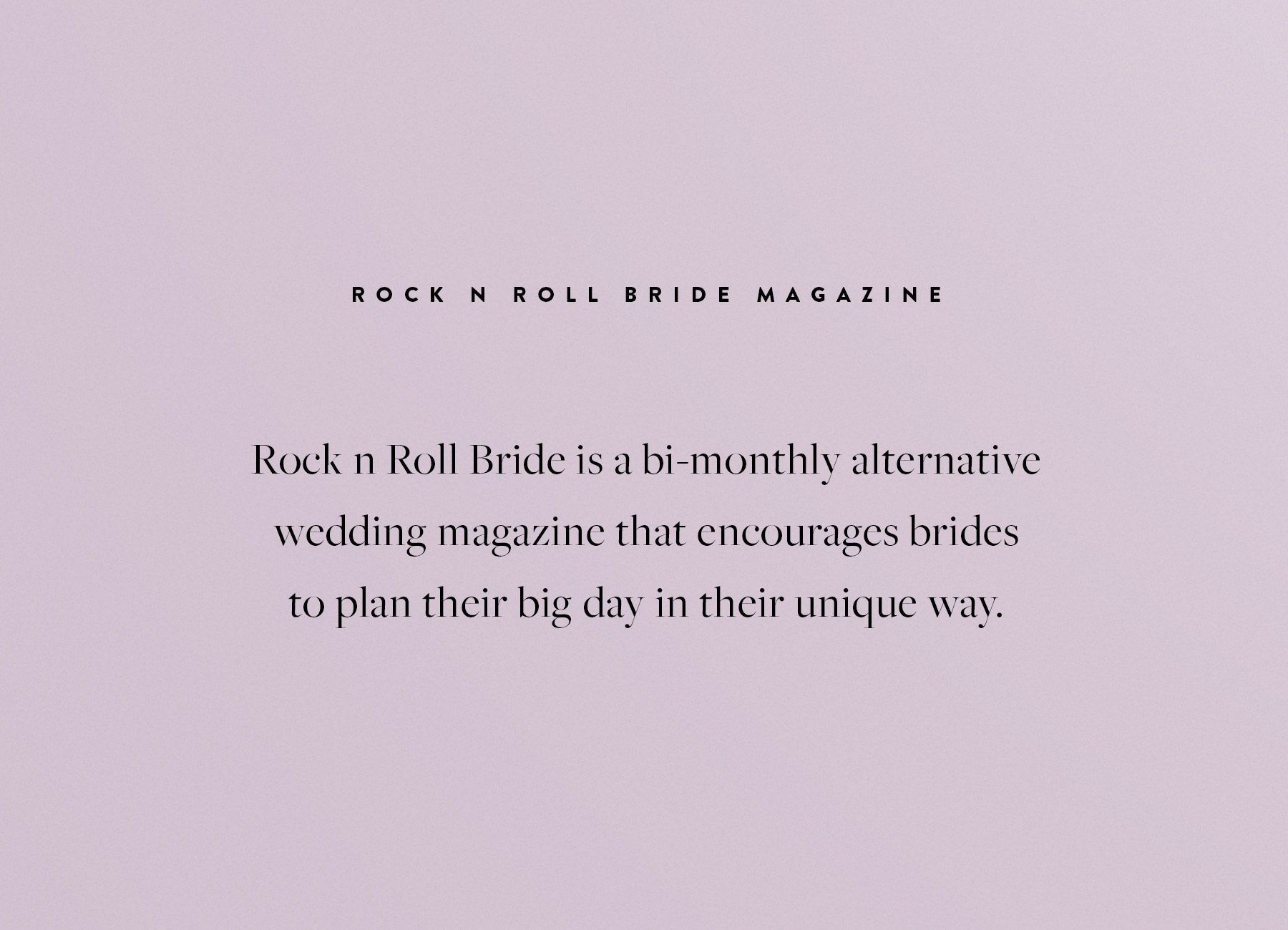 Branch | Rock n Roll Bride Magazine Issue 8