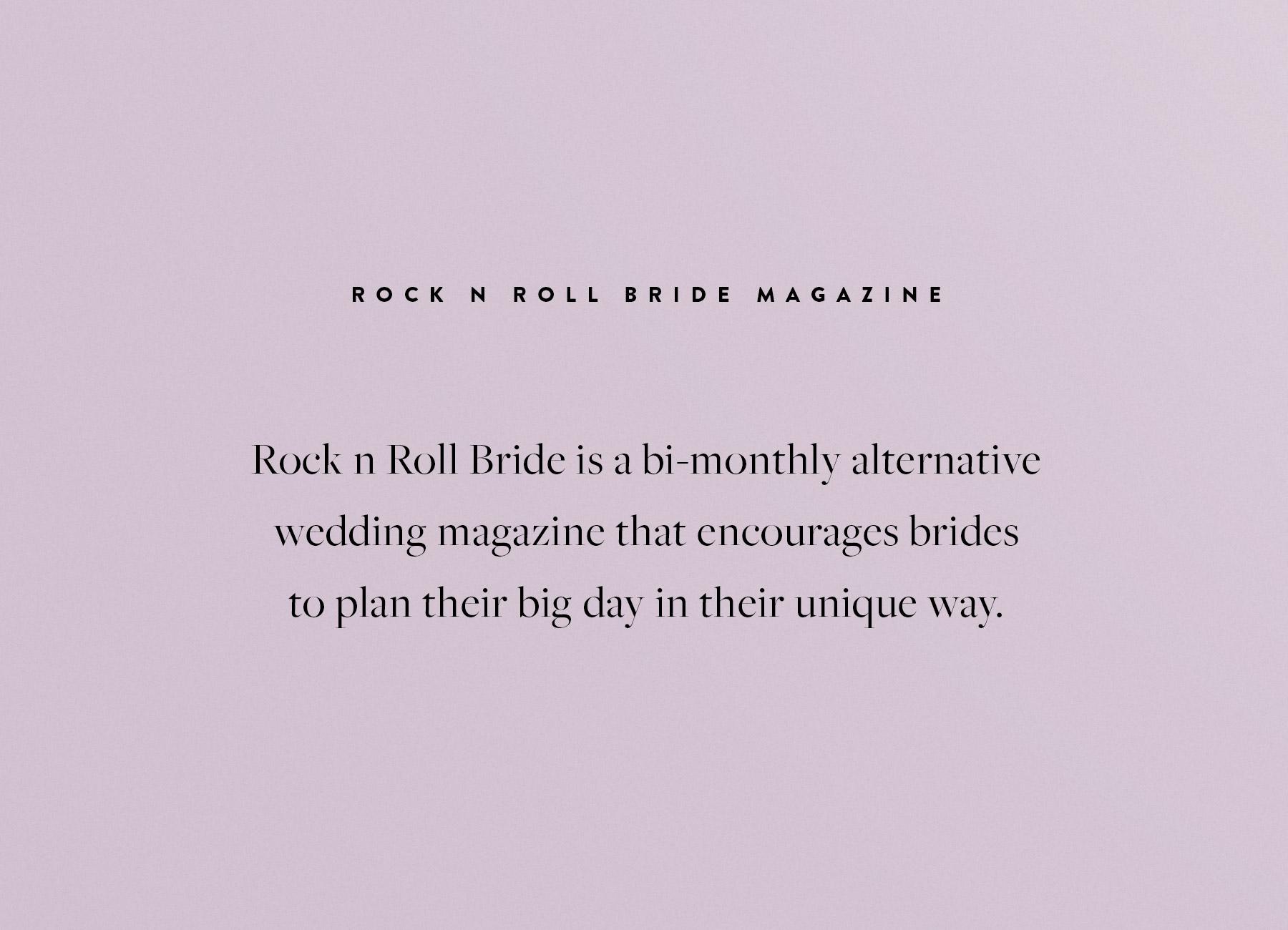 Branch | Rock n Roll Bride Magazine Issue 8