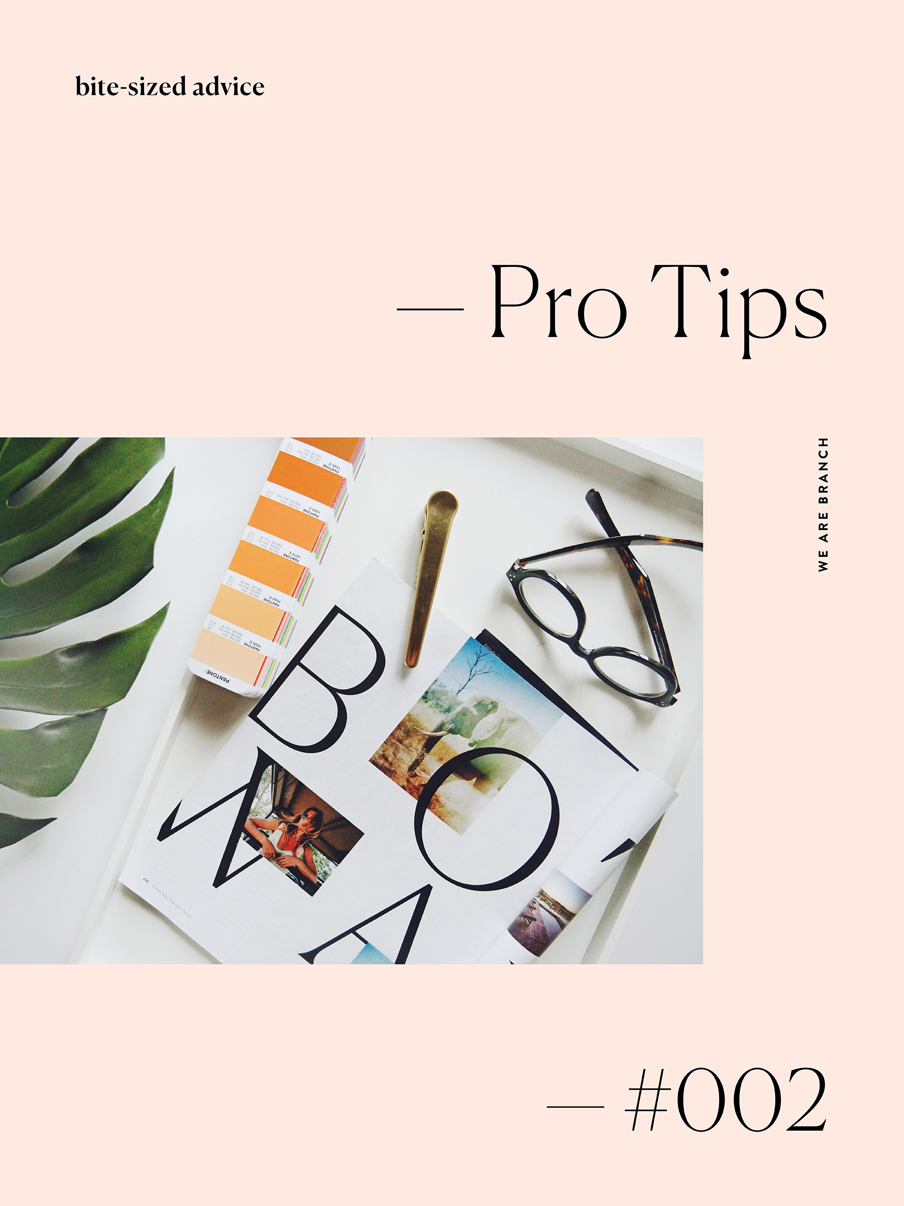 Branch | Pro Tips #2: Printing Resources