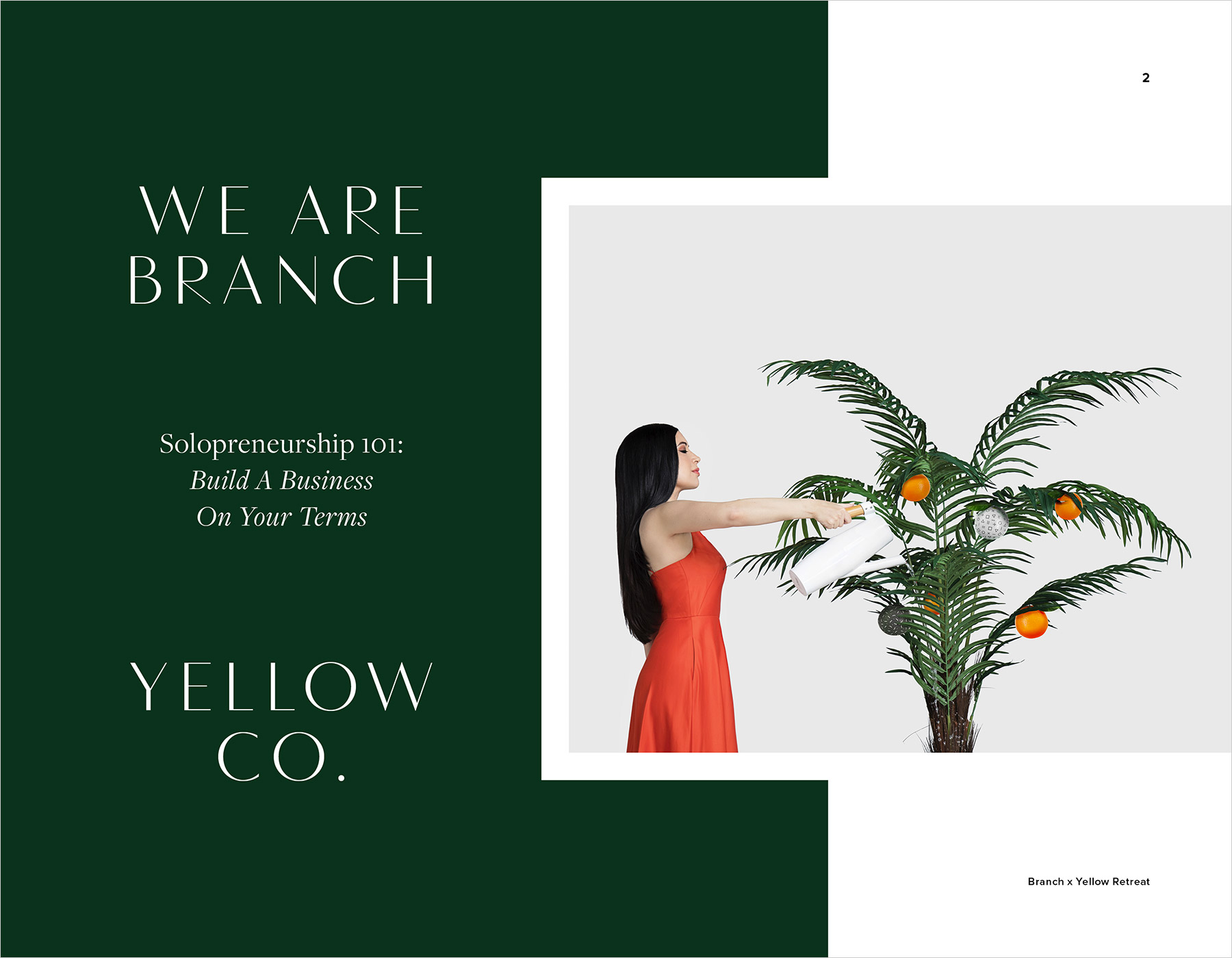 Branch x Yellow Co. New Mexico Solopreneur Retreat