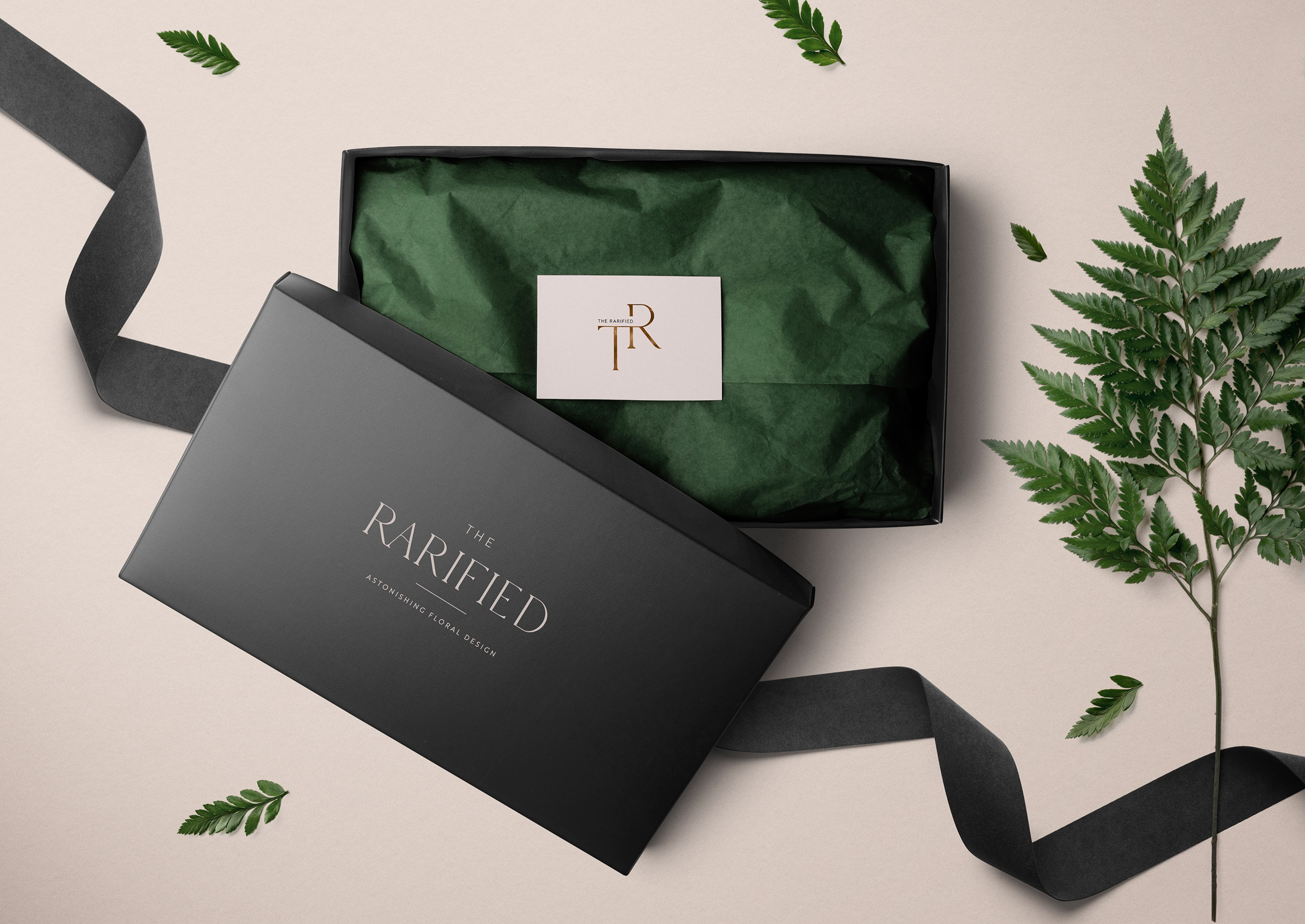 We Are Branch | The Rarified Florist Branding